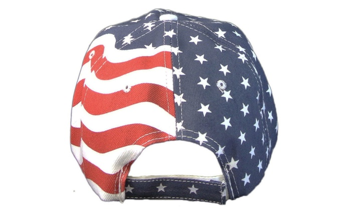 baseball hats usa flag camo cap with american patriotic red white blue hat patch