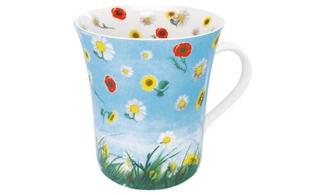 Set of 4 Mugs Flower Eddy a490b3a8-86a6-4458-9942-4d04e5806271