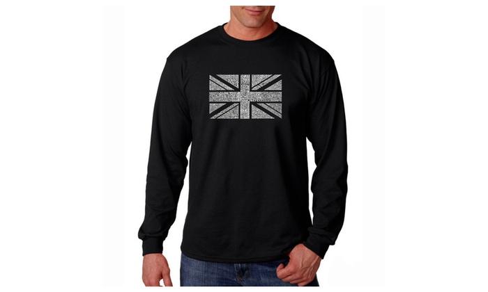 Men's Long Sleeve T-shirt - UNION JACK