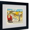 George Fay 'Syndicat Central' Matted Black Framed Art