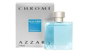 CHROME by Azzaro 3.4 oz Eau de Toilette Spray Men's Cologne NEW 100 ml NIB