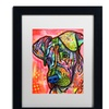 Dean Russo 'Zen' Matted Black Framed Art