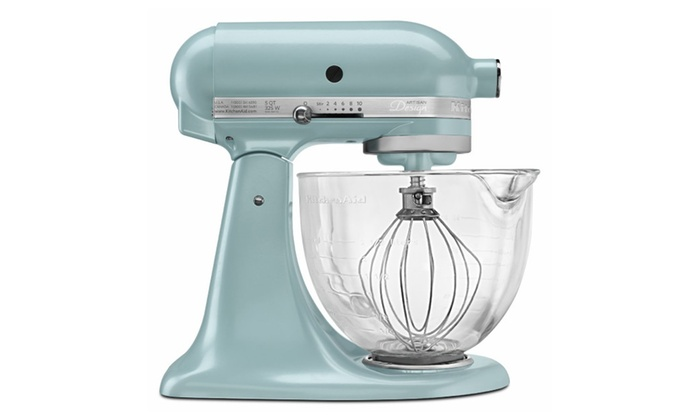 Kitchenaid Stand Mixer With Glass Bowl