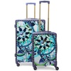 Macbeth Sailing Serafina Trunk 2 Piece Nested Luggage Set, Navy