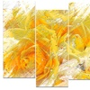 Yellow Tulips - Floral Metal Wall Art