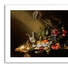 Cornelis De Heem 'Banquet Still Life' Canvas Rolled Art