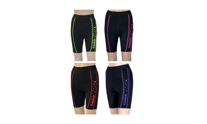New Zimco Elite Women Compression Base Layer Skin Shorts Nicks 3091