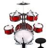 Supreme Rhythm Jazz Big Size Children Kid's Musical Instrument Toy Drum Playset