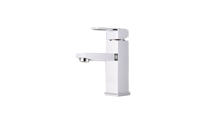 Modern Single Handle Bathroom Sink Faucet