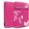 "Insten Pink Flower Bag Pouch Cover for 13inch 13.3"" Macbook Pro"