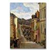Paul Gauguin A Suburban Street Canvas Print