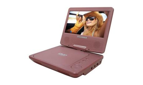 "Sylvania SDVD7014 Pink 7"" Portable DVD Players (pink) 5eb94005-e281-400a-8450-27aaa35c3f05"