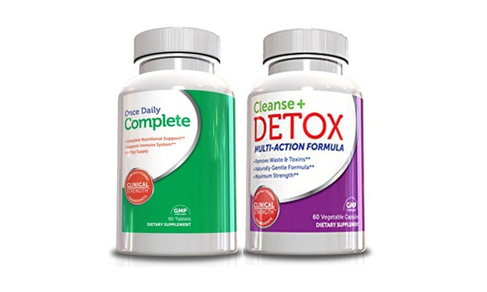 Buy It Now : Cleanse and Detox Kit w/ Multivitamin for Men and Women