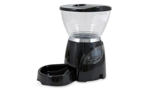 Petmate Le Bistro Electronic Portion Control Automatic Feeder 5 lbs