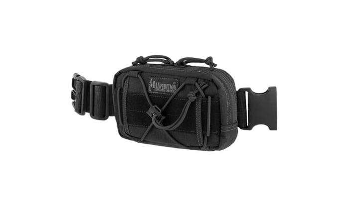 Maxpedition Black Janus Extension Tactical Gear Pocket
