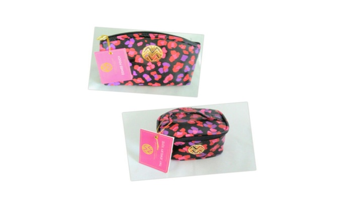 Macbeth Collection Tiny Jewelry Tote & Domed Pouch Set