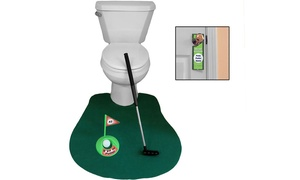 Evelots Novelty Golf Potty Putter for Bathroom