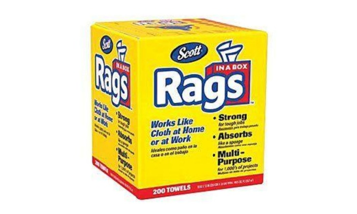 kimberly clark kim75260 rags in a box 200 pack - Box Of Rags