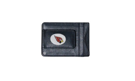 NFL Football Team Card Holder & Money Clip