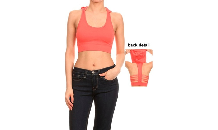 Seamless Performance Style Sports Bra With Hoodie