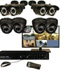 """Security Labs 19""""LED Monitor & 8-channel 960h 1TB DVR With 8 Cameras"""