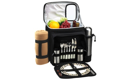 London Picnic Cooler for 2 with Blanket & Coffee Service df5db61b-b57c-4d08-bdde-01b08dbfea60