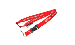 Sports Team Logo Clip Lanyard Keychain Id Ticket Holder NHL