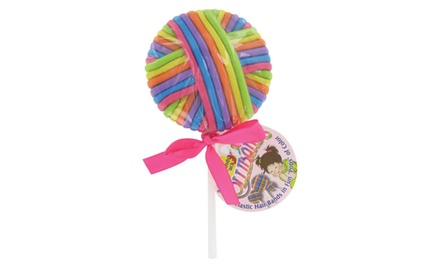 Bright and Colorful Elastic Hair Holders in Fun  Lolli Pops! - 2 Pack