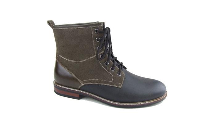 Beston Mfa-808562 Men's Fashionable Military Ankle Booties