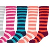 Sakkas Womens Super Soft Anti Slip Fuzzy Knee High Socks Assorted -6