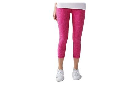 Lululemon Wunder Under Crop Yoga Pants Heathered Jewelled Magenta Pink 3f385341-8564-4b40-b673-ce86f9258e09