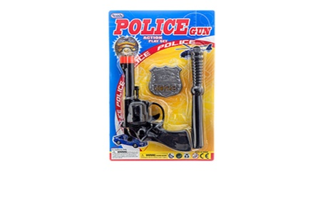 "Toy Gun Police 7"" Play Set 8475919a-3022-45d9-85c1-dc384221eaac"