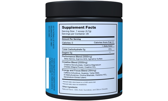 Pre Workout Decimus By Naturo Nitro, 28 Servings - Pink