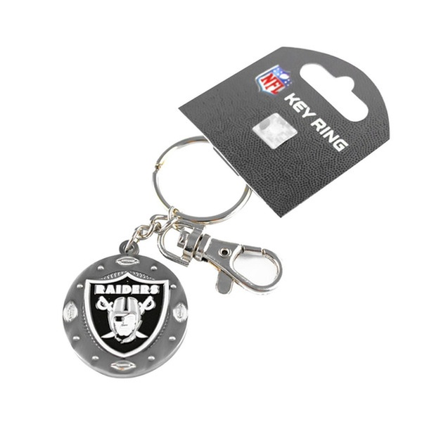 Sports Team Logo Imapact Metal Key Ring Clip Keychain