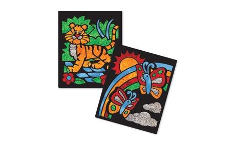 Melissa & Doug On-the-Go Craft Set - Foil Art - Animals 9421 2bae381d-21db-4f4d-85f1-c652739e3330
