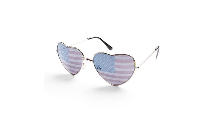 American Heart Aviator Sunglasses