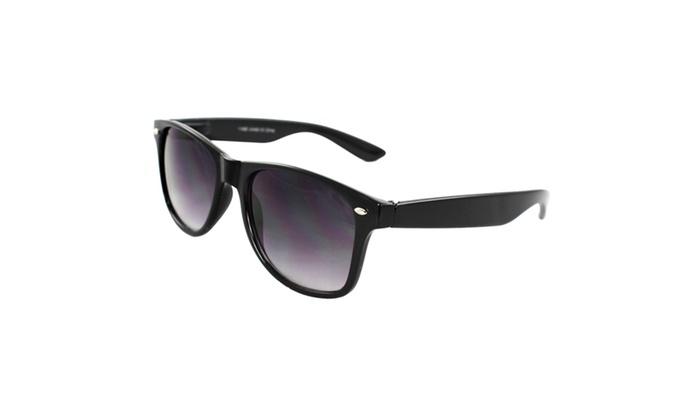 MLC EYEWEAR Stylish Retro Square Sunglasses - BKPB