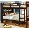Fairfield Twin Over Twin Bunk Bed With Bookshelf