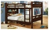 Hollywood Decor: Fairfield Twin Over Twin Bunk Bed With Bookshelf