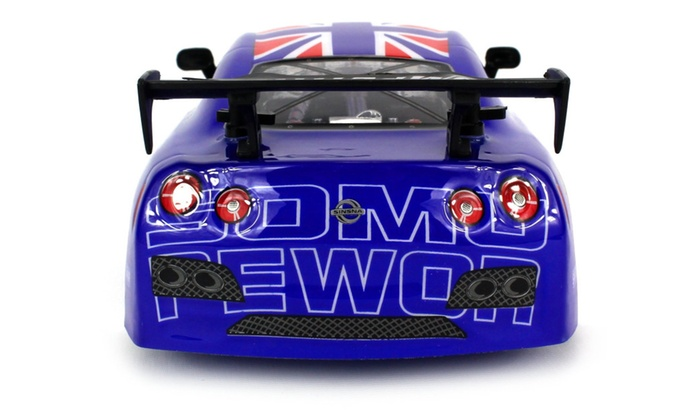 Racemaker Champ Nissan GTR GT3 RC Car 1:18 Scale (Colors May Vary ...