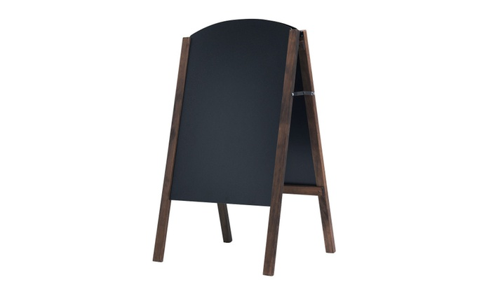 Up To 33% Off on 31.5\'\' Wood A-Frame Chalkboar... | Groupon Goods