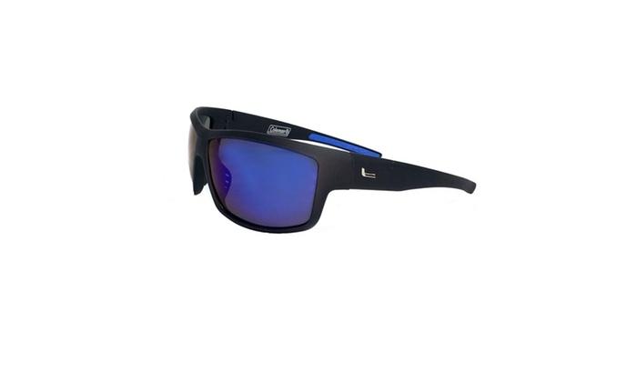 Badlands-Matte Black Full Frame w/Blue Mirror Len Sunglasses
