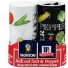 Morton Iodized Salt & Pepper Set