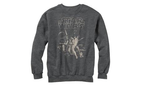 Star Wars Classic Poster Mens Graphic Sweatshirt cc308543-fc0a-4b33-9220-4350c71c7cbc