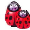 "Kids 17"" Carry-on Trolley Luggage +13""Backpack - Ladybug"
