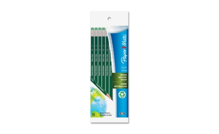 Paper Mate Earth Write 100% #2 Pencils Recycled Pencils, 10 Pencils (1768536)