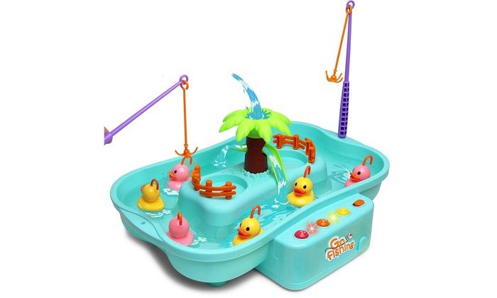 Kiddie Play Fishing Game Water Toy Set for Kids | Groupon