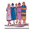 Garner Lewis; The Reunion Canvas Print