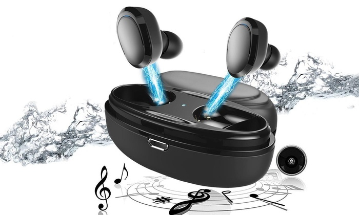 Up To 75 Off On Wireless Earbuds Bluetooth 5 Groupon Goods