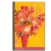 Sheila Golden Bouquet with Yellow Canvas Print
